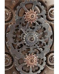 Bottega Veneta - Metallic Oxidized And Rose Gold-Plated Sterling Silver Cuff - Lyst