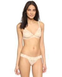 Cosabella - Pink Never Say Never Brazilian Minikini Panties - White - Lyst