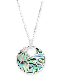 Frederic Sage | Metallic Venus Abalone & Diamond Pendant Necklace | Lyst
