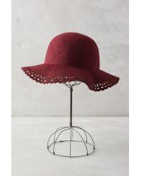 Anthropologie - Purple Beleza Floppy Hat - Lyst