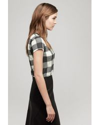 Rag & Bone - Gray Classic Short Sleeve Tee - Lyst