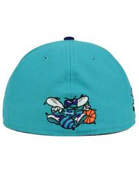 official photos aff63 d8149 Lyst - KTZ Charlotte Hornets State Reflective Redux 59fifty Cap in ...
