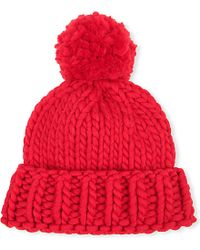 Wool And The Gang - Red Zion Lion Hat Knitting Kit - Lyst