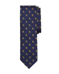 Brooks Brothers | Blue Golden Fleece® And Crossbones Slim Tie for Men | Lyst