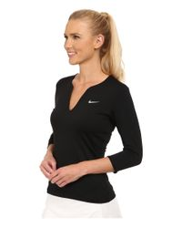 Nike | Black Pure Long Sleeve Top | Lyst