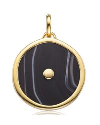 Monica Vinader - Metallic Atlantis Eye Pendant - Lyst
