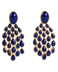 Aurelie Bidermann | Blue 'Cherokee' Earrings | Lyst