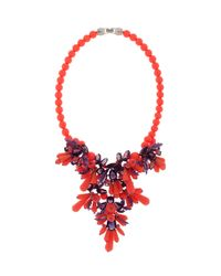 EK Thongprasert | Orange Jewelled Necklace | Lyst