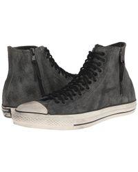 Converse | Metallic Chuck Taylor All Star Multi-lace Zip Hi | Lyst