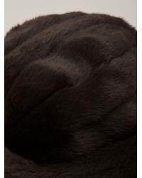 Harvey Faircloth - Brown Faux Fur Hat - Lyst