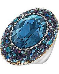 Swarovski | Blue Ring | Lyst
