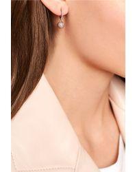 Ileana Makri | Metallic 18-karat Rose Gold Diamond Earrings | Lyst