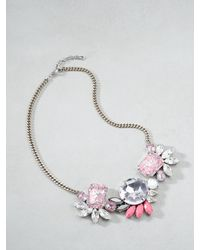 Patrizia Pepe | Pink Junk Jewellery Necklace | Lyst