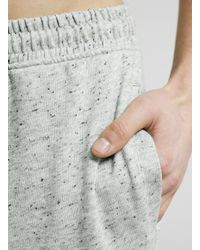 LAC - Gray Grey/bk Textured Sweatpants for Men - Lyst