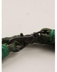 DIESEL | Green Logo Necklace | Lyst