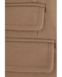 Neil Barrett - Brown Belted Wool-Blend Coat - Lyst
