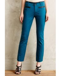 Cartonnier | Blue Textured Charlie Trousers | Lyst