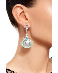 Sutra | Blue Mint Paraiba Earrings | Lyst