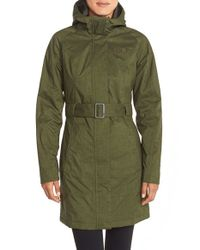 The North Face - Green Insulated 'montlake' Jacket - Lyst