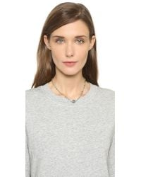Ela Rae - Green Lela Choker Necklace - Lyst