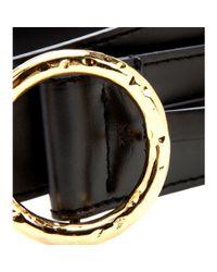 Stella McCartney - Black Embellished Belt - Lyst