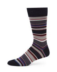 Paul Smith | Blue Albermarle Multi-striped Socks for Men | Lyst