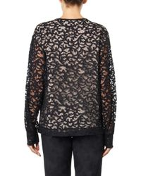 See By Chloé | Black Woolblend Sweater | Lyst