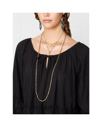 Denim & Supply Ralph Lauren | Black Lace-trim Jersey Camisole | Lyst