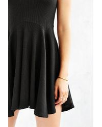 BDG | Black Penelope Fit + Flare Dress | Lyst