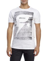 G-Star RAW | White Tomeo Longline Tee for Men | Lyst
