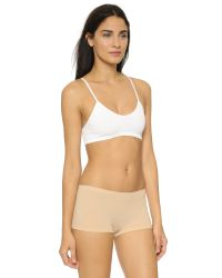 Free People - Natural Baby Racer Back Bra - Lyst