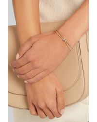 Jemma Wynne - Metallic Revival 18-karat Gold Diamond Bracelet - Lyst
