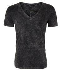 Rag & Bone - Black Jackson Acid Wash Tshirt for Men - Lyst