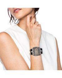 Lulu Frost - Larkspur Bracelet Black - Lyst