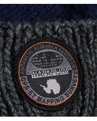 Napapijri   Gray Hat for Men   Lyst