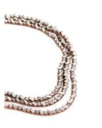 Erickson Beamon | White 'war Of The Roses' Swarovski Crystal Necklace | Lyst