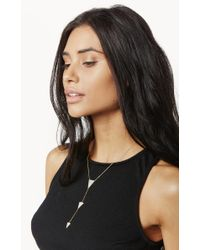 Natalie B. Jewelry | Metallic Baby Imperial Lariat Necklace | Lyst