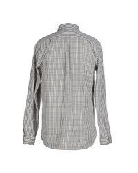 SELECTED - Gray Shirt for Men - Lyst