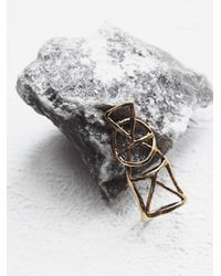 Free People - Metallic Alchemy Ring - Lyst