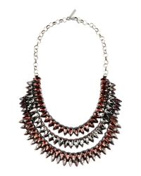 Deepa Gurnani - Purple Necklace - Lyst