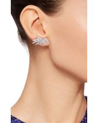 AS29 | Metallic Bamboo Full Stud Earrings | Lyst