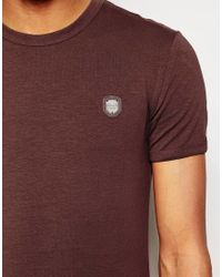 Antony Morato | Purple Crew Neck T-shirt for Men | Lyst