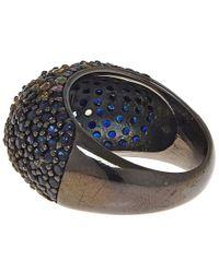 M.c.l - Black Pave Bubblegum Ring - Lyst