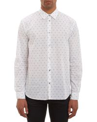 Marc By Marc Jacobs | White Hamburger Dotprint Shirt for Men | Lyst