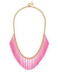 BaubleBar | Pink Fluoro Fringe Strand | Lyst