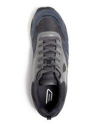 DIESEL | Black Long Term E-dynagg Runner Sneakers for Men | Lyst