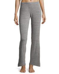 Natori - Gray Cosi Heathered Lounge Pants - Lyst