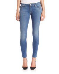 Hudson Jeans - Blue Elysian Krista Super Skinny Jeans - Lyst