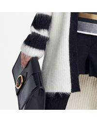 Tommy Hilfiger - White Mohair Cardigan - Lyst