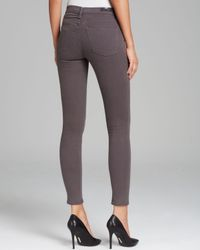 Citizens of Humanity | Gray Jeans Rocket High Rise Skinny in Gaze Grey | Lyst